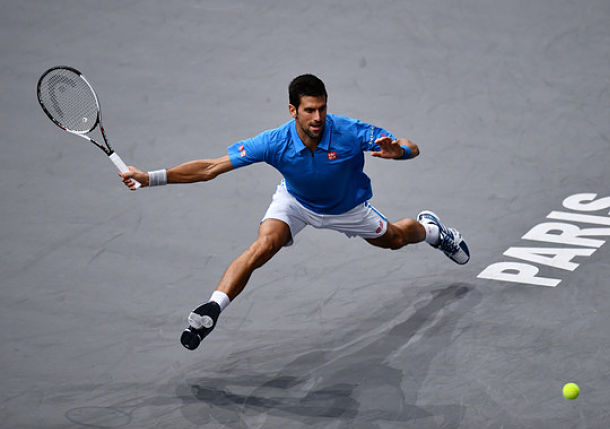 Djokovic Lays Down Marker in Paris