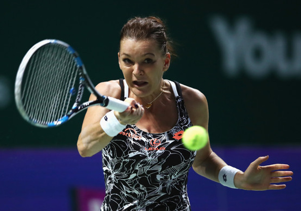 Radwanska Reaches Singapore Semifinals vs. Kerber