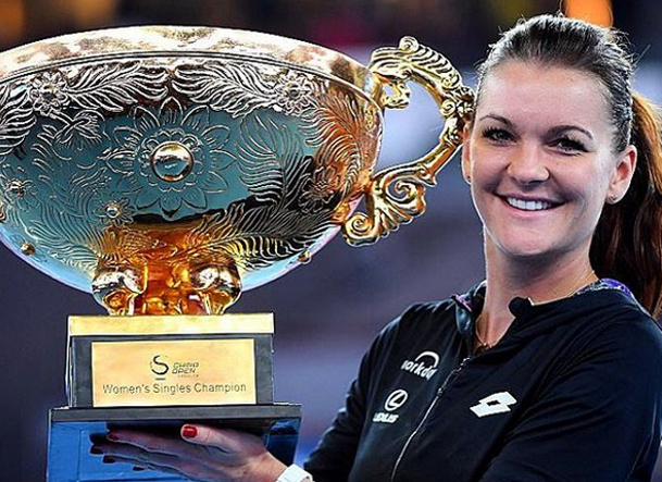 Radwanska Dissects Konta, Wins Second Beijing Crown