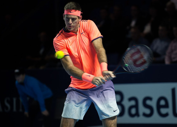Del Potro Downs Goffin, Faces Nishikori Next