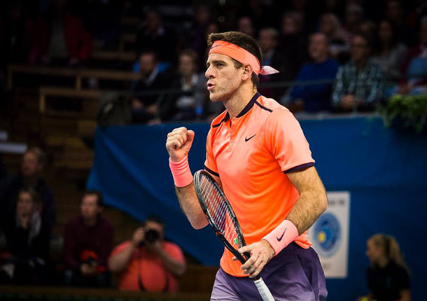 Del Potro Dismisses Dimitrov, Reaches Stockholm Final