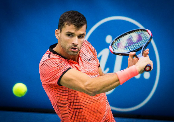 Dimitrov to Face Del Potro In Stockholm Semifinals