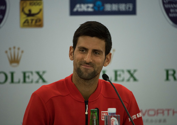 Djokovic Dismisses Fognini in Shanghai Return