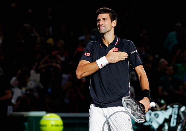 Djokovic Relishing Off-Season after Rough Finish