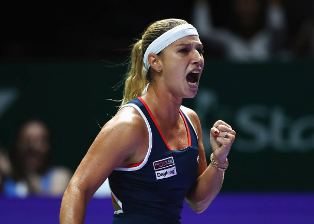 Cibulkova Conquers Kuznetsova, Reaches Singapore Final