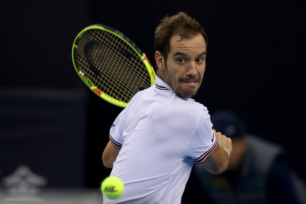 Gasquet Battles Back Over Edmund to Reach Antwerp Final