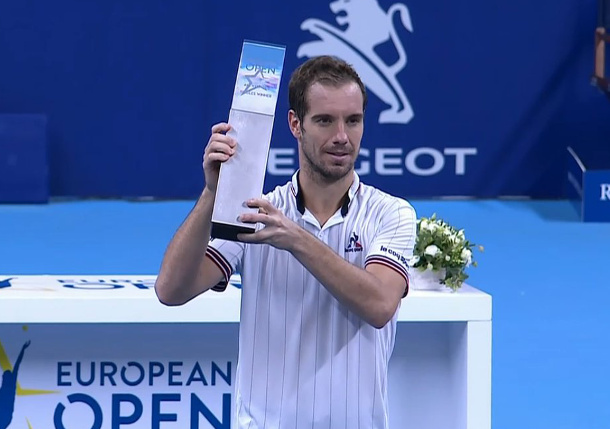 Richard Gasquet Claims Inaugural European Open Title
