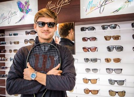 Goffin Signs on with Maui Jim Shades