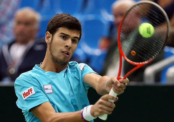 Khachanov Powers Into First Final in Chengdu