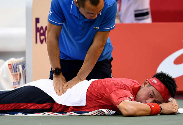 Top-Seeded Nishikori, Berdych Out Of Tokyo