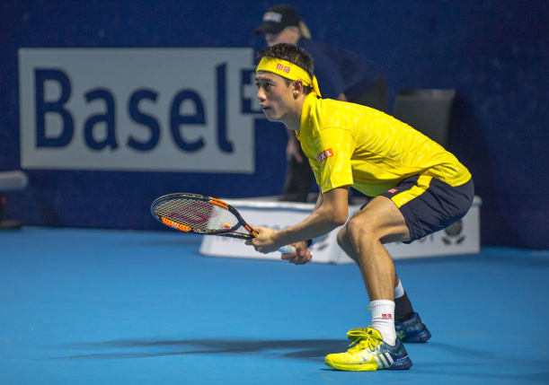 Nishikori Saves Match Points, Grinds Into Basel Final