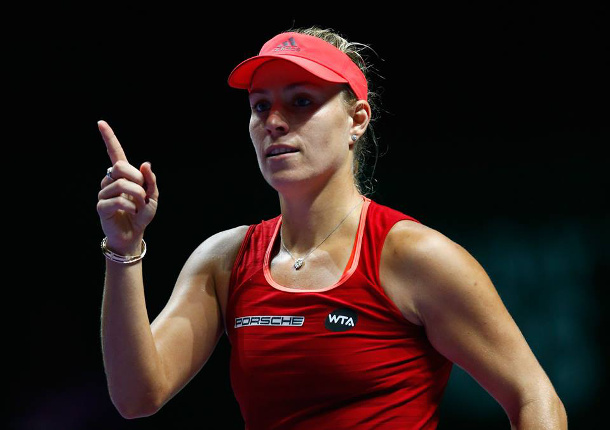 Watch: Kerber Calls Confidence Key To Success