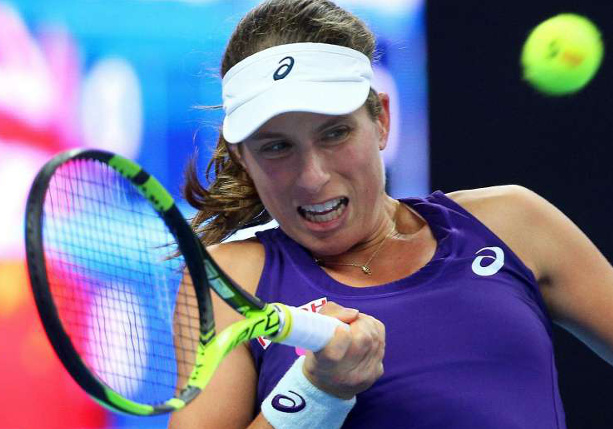 Konta Splits With Coach