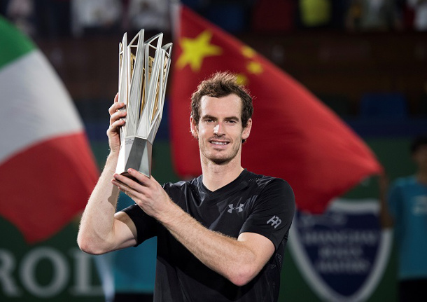 Murray Wins Shanghai Title, Moves Closer To Top Spot