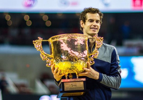 Murray Defeats Dimitrov, Wins 40th Career Title