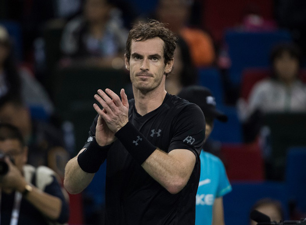 Murray Powers Past Simon Into Shanghai Final