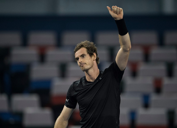 Murray Shreds Pouille, Powers Into Shanghai Quarterfinals