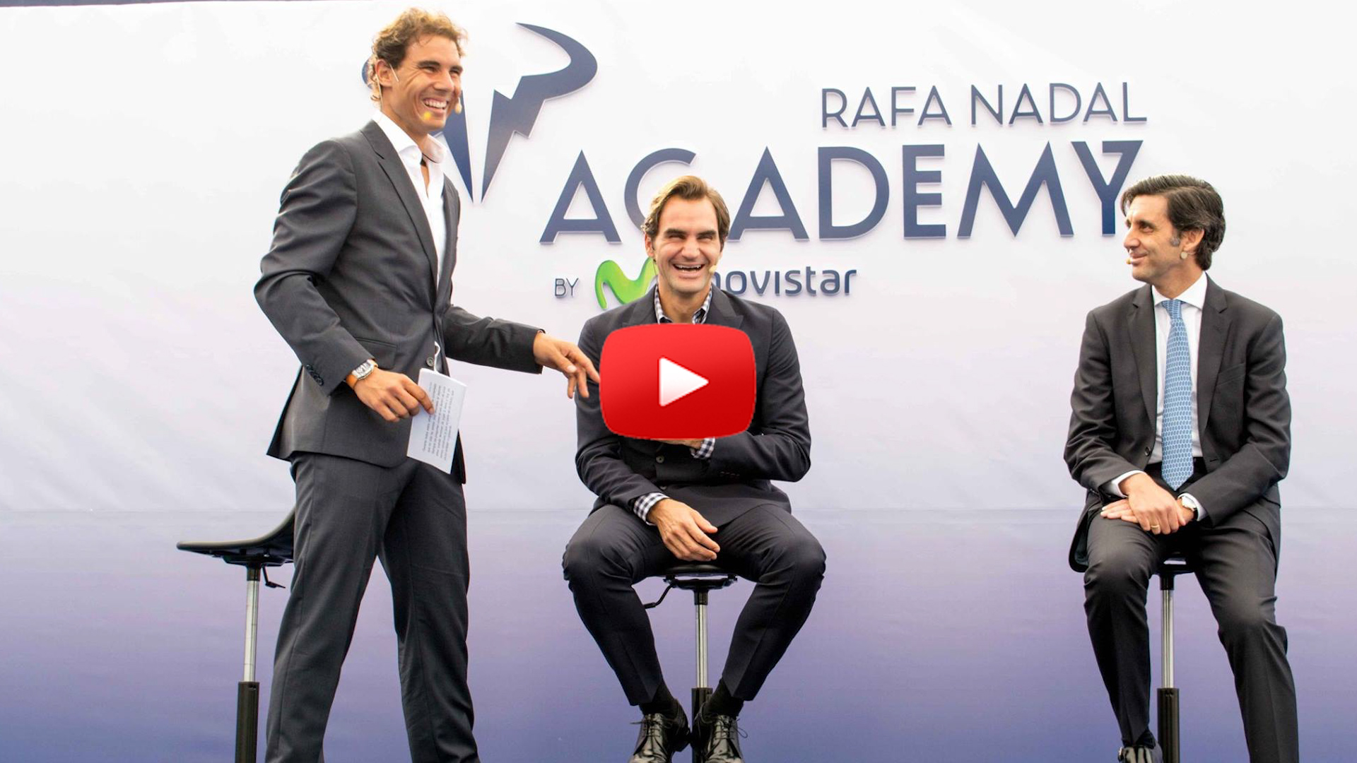 Roger Federer and Rafael Nadal Reunite for Nadal's New Academy