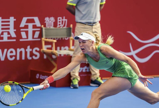 Wozniacki Wins 25th Title in Hong Kong