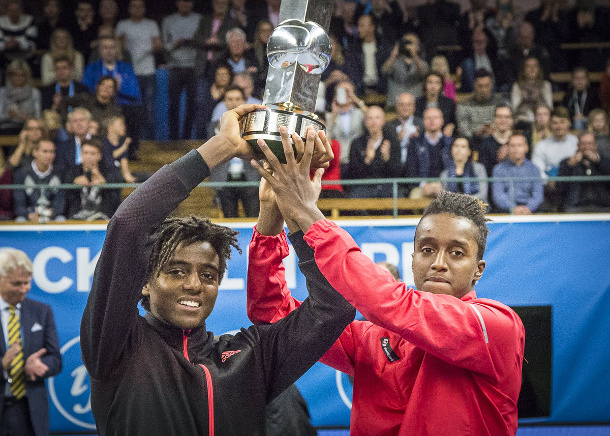 Watch: Ymer Brothers Break Through