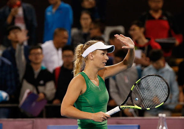 Wozniacki Wards Off Lisicki In Luxembourg