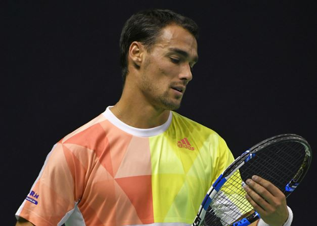 Fognini, Robert Reach Moscow Quarterfinals