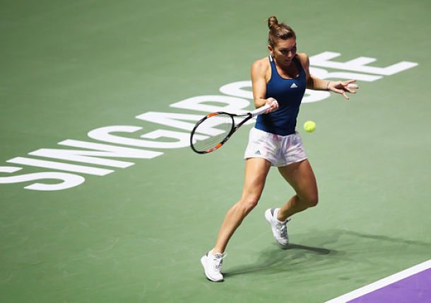Halep Maintains Dominance over Keys in Singapore Opener