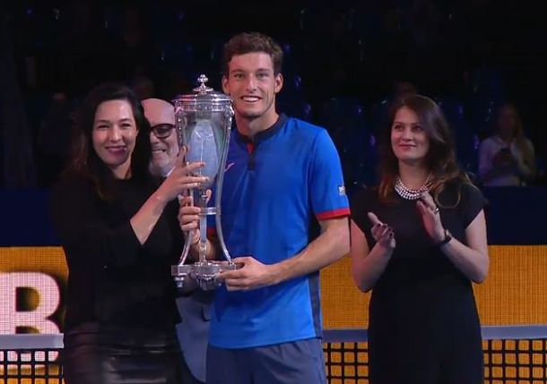 Carreno Busta Defeats Fognini for Moscow Title