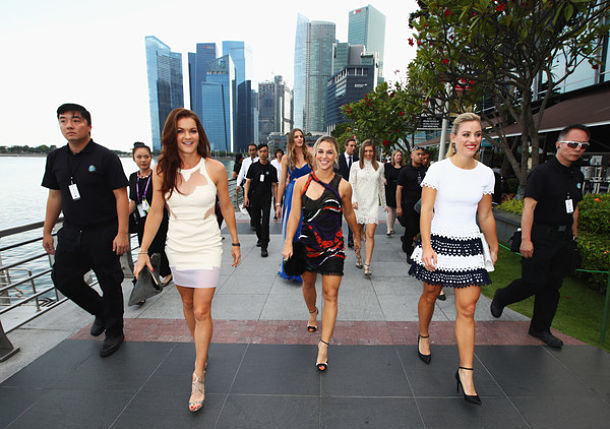 WTA Finals Draw Held, Groups Selected