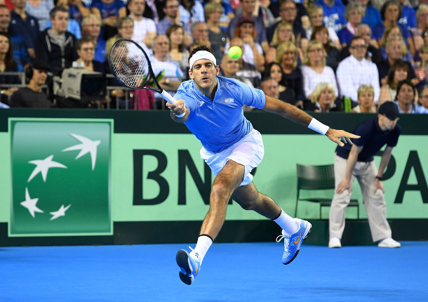 Del Potro Outduels Murray in Five-Hour Davis Cup Epic