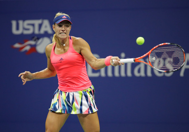 Kerber Reunites with Coach Beltz