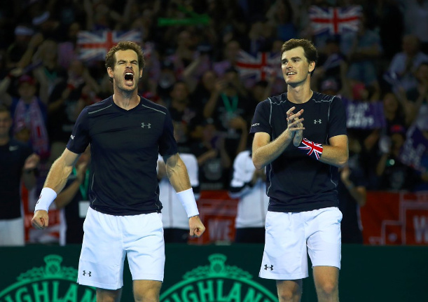 Murray Brothers Keep British Hope Alive