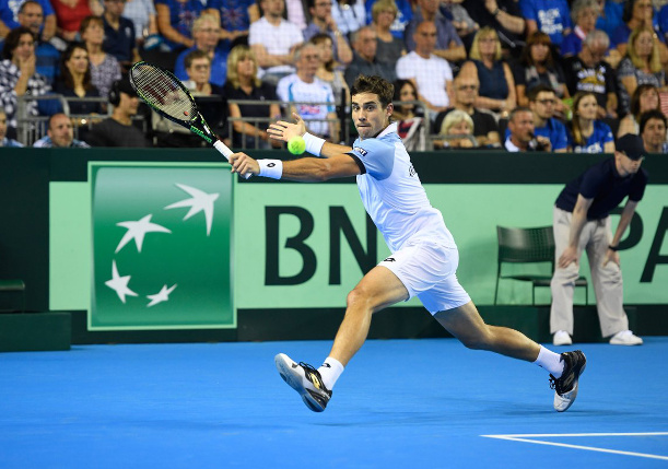 Pella Puts Argentina One Win From Davis Cup Final