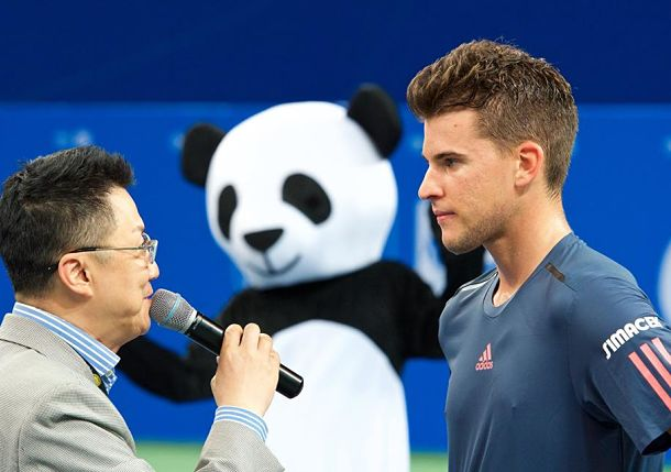 Thiem Advances, Kyrgios Defeated in Chengdu