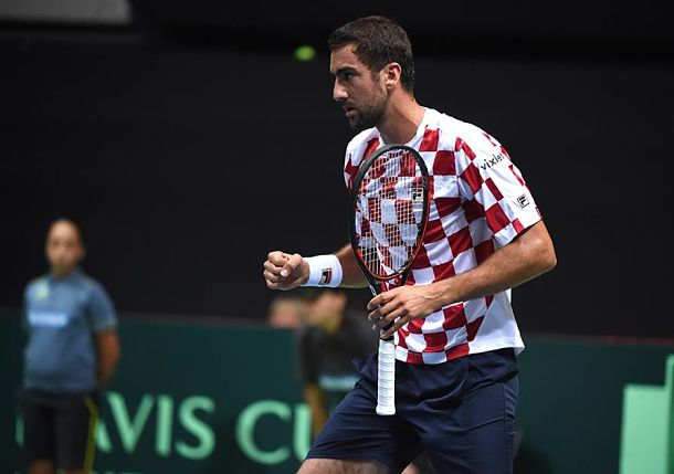 Cilic Brings Croatia Level with France in Zadar