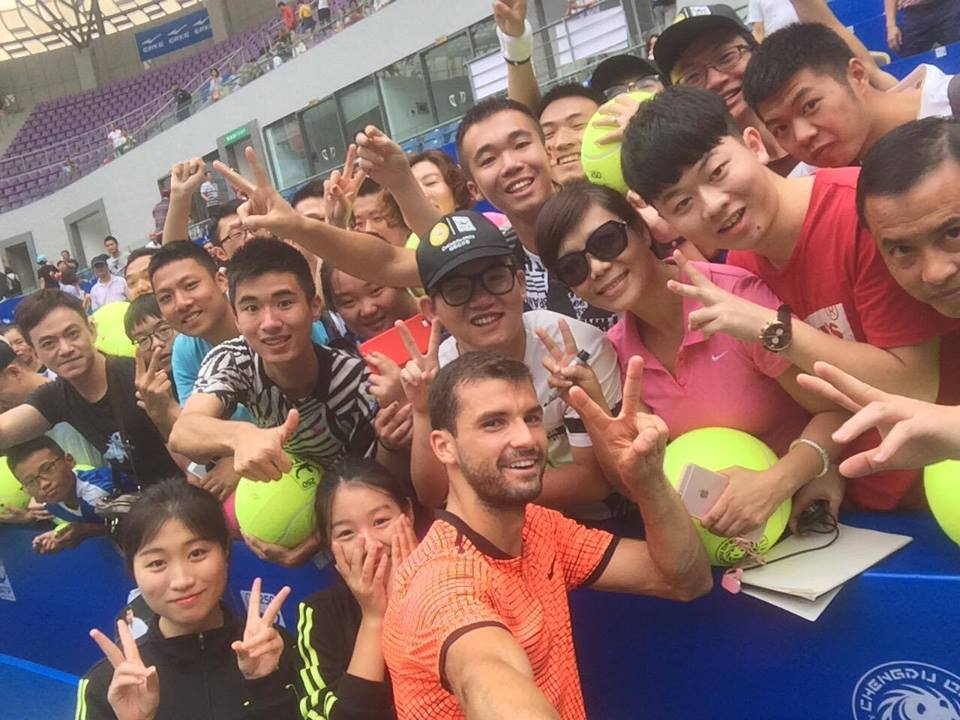 Dimitrov Notches 200th ATP Win in Chengdu