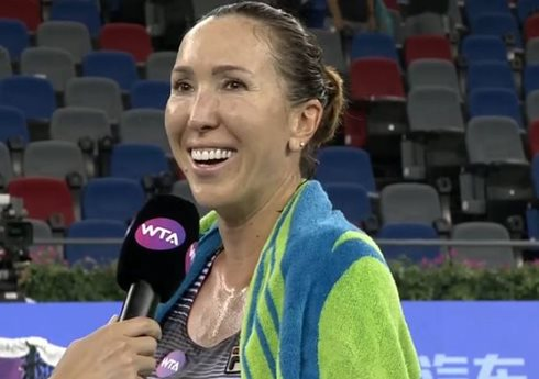 Jankovic Upsets Muguruza in Wuhan