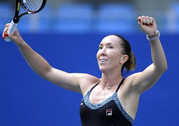 Defending Champion Jankovic Reaches Guangzhou Semis