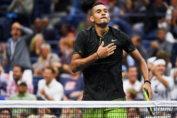 Watch: Kyrgios Makes Magic Before U.S. Open Departure