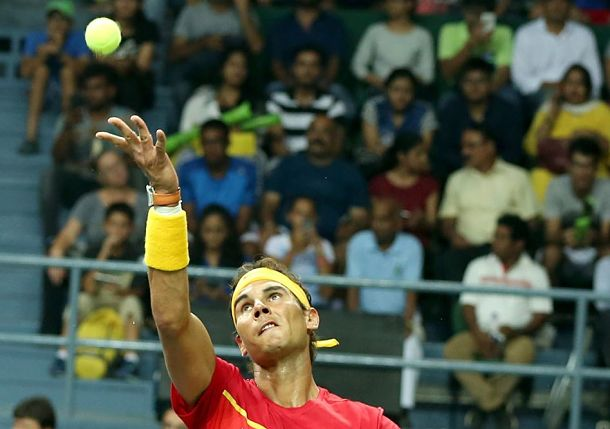 Nadal and Lopez Clinch for Spain