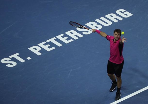 Wawrinka Returns to St. Petersburg in Style