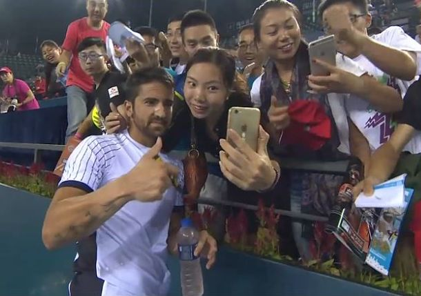 Janko Tipsarevic is Rounding into Form in Shenzhen