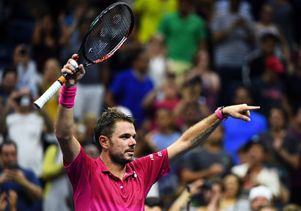 Wawrinka Muscles Past Nishikori into U.S. Open Final