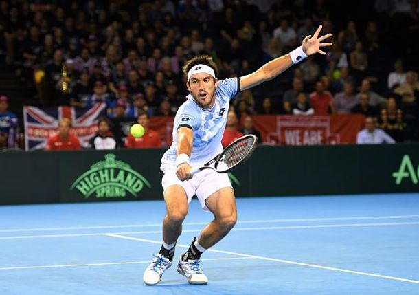 Argentina Survives Brit Bristle to Reach Davis Cup Final