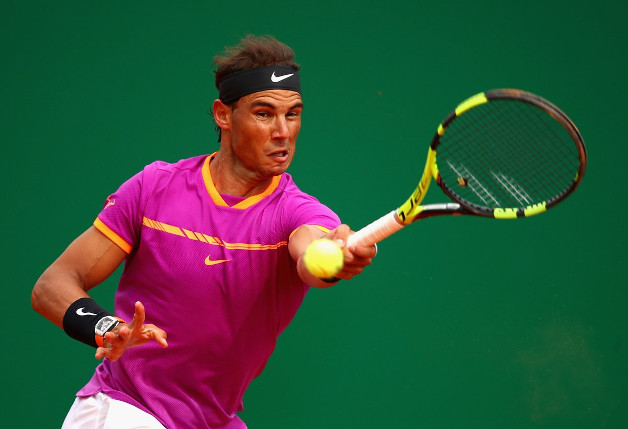 Nadal Powers Past Schwartzman and into Monte-Carlo Semis