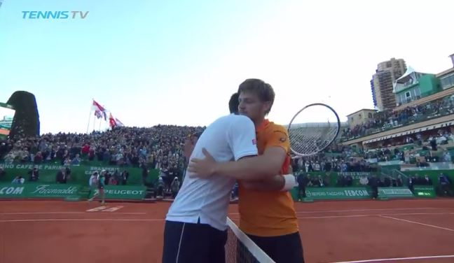 Watch: Goffin Defeats Djokovic for the First Time