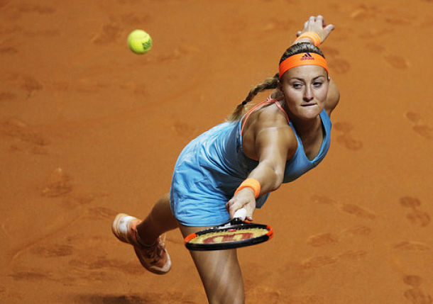 Mladenovic Thwarts Sharapova Run to Reach Stuttgart Final
