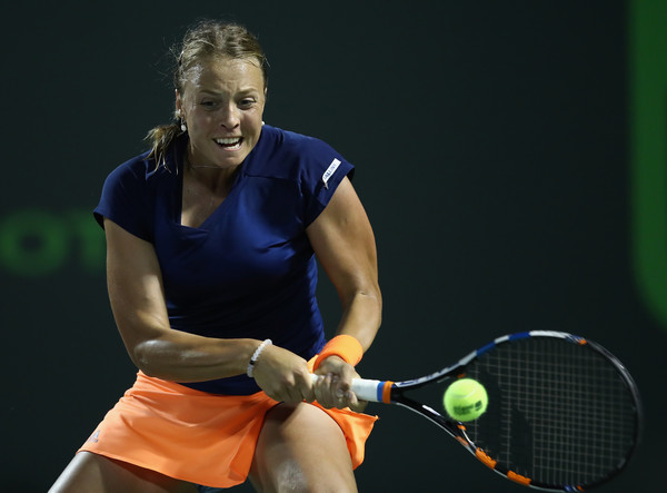 Kontaveit Stuns Muguruza in Stuttgart to Reach Quarterfinals