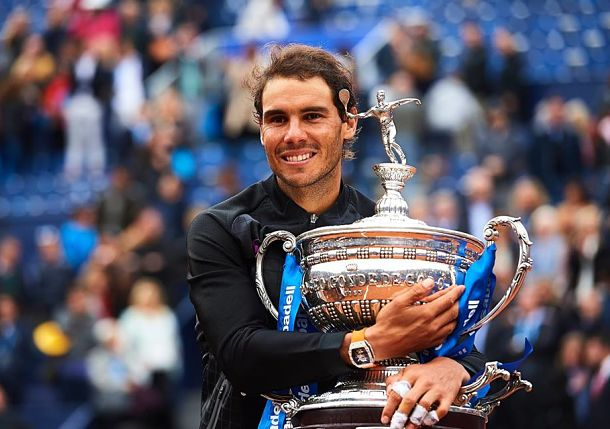 Nadal Claims Double Decima at Barcelona
