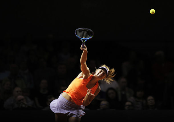 Sharapova Makes Successful Return at Stuttgart